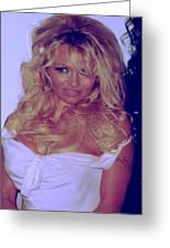 Pamela Anderson Greeting Card