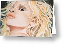 Pamela Anderson Greeting Card