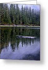 Pamelia Lake Reflection Greeting Card
