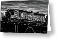 Pan Am Railways 618 616 609 Greeting Card by Bob Orsillo