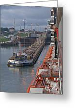 Panama Canal Greeting Card