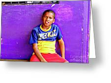 Panama Kids 967 Greeting Card
