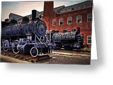 Panama Railroad Locomotive 299 Greeting Card