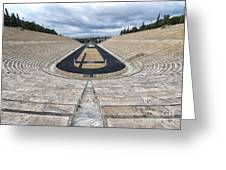 Panathenaic Stadium In Athens, Greece Greeting Card