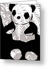 panda XXX Greeting Card