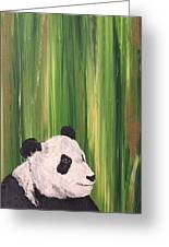Pandas Fading  Greeting Card