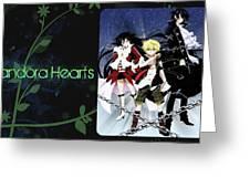 Pandora Hearts Greeting Card
