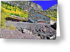Pandora Mill - Telluride - Colorful Colorado Greeting Card