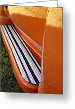 Panel Truck Running Board Greeting Card