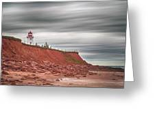 Panmure Island Lighthouse Greeting Card