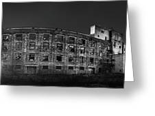 Pano Of The Fort William Starch Company At Sunset Greeting Card