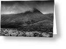 Panorama From Slievenaglogh Greeting Card