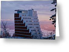 Hotel Panorama Resort Greeting Card