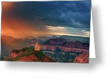 Panorama North Rim Grand Canyon Arizona Greeting Card