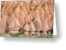 Panorama Of Fairy Chimneys Greeting Card