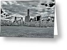 Panorama Of New York City Greeting Card