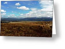 Panorama Of Pachamama IIi Greeting Card