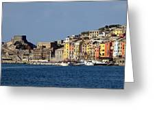 Panorama Of Portovenere Greeting Card