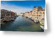 Panorama Of Venice Greeting Card
