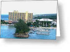 Panoramic Coast Greeting Card