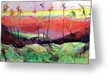 Panoramic Ensemble Greeting Card
