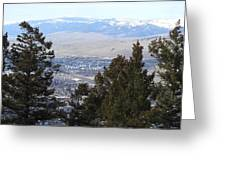 Panoramic Picture Greeting Card