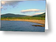 Panoramic View Of Country Cork, Ireland Greeting Card