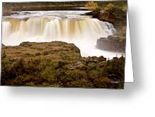 Panoramic Waterfall Manitoba Greeting Card