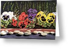 Pansy Palette Greeting Card