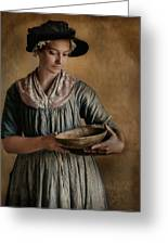 Pantry Pondering Greeting Card by Robin-Lee Vieira