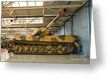 Panzer Vi Tiger Tank In Bovington, Uk Greeting Card