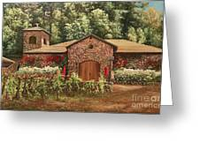 Paoletti  Estates Winery Greeting Card