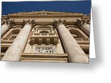 Papal Balcony Greeting Card