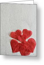 Paper Hearts Greeting Card