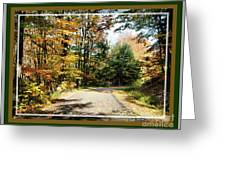 Paper Mill Trail, Framed Greeting Card
