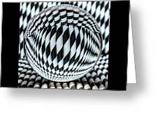 Paper Straw Patterns Greeting Card
