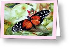 Papillon I Greeting Card