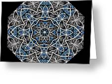 Papilloz - Mandala Greeting Card