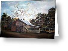 Pappas Barn Sold Greeting Card