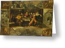 Parable Of The Prodigal Son Greeting Card