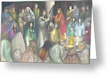 Parables Greeting Card