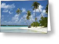 Paradise - Maupiti Lagoon Greeting Card by Kyle Rothenborg - Printscapes