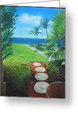 Paradise Beckons Greeting Card