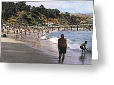 Paradise Cove Greeting Card