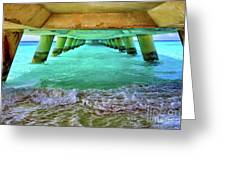 Paradise In Grand Turk Never Ends Greeting Card