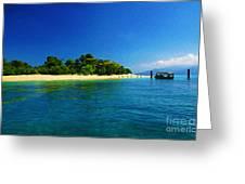 Paradise Island Haiti Greeting Card