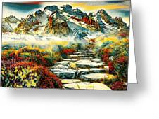 Paradise Mountain Greeting Card