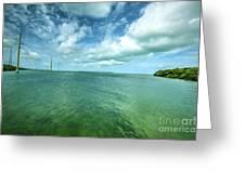 Paradise On Earth, Florida Keys Greeting Card