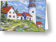 Paradise On The Point Greeting Card