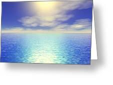 Paradise Sky Greeting Card